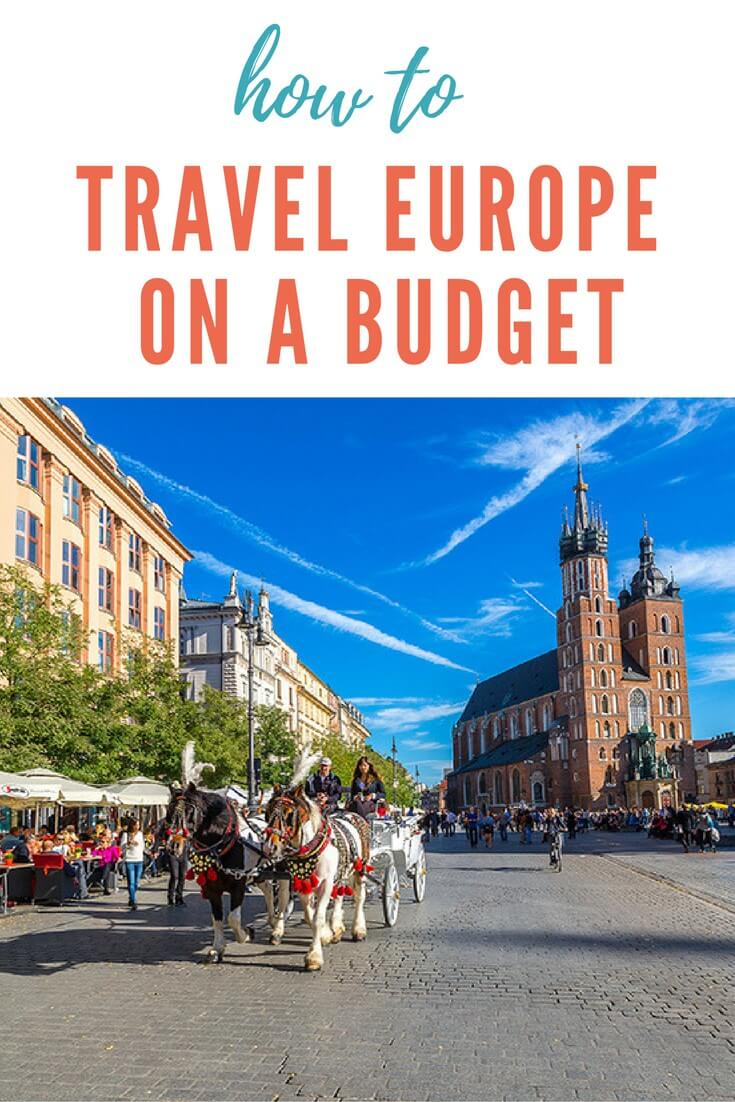 Travel off-season — generally October through April in Europe. You'll get cheaper airfare, find more budget rooms, spend less time in lines, and meet more Europeans than tourists. Big cities such as London, Paris and Rome are interesting any time of year.