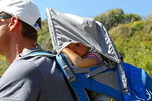 Kelty Baby Carrier - one of the best travel gifts for kids!