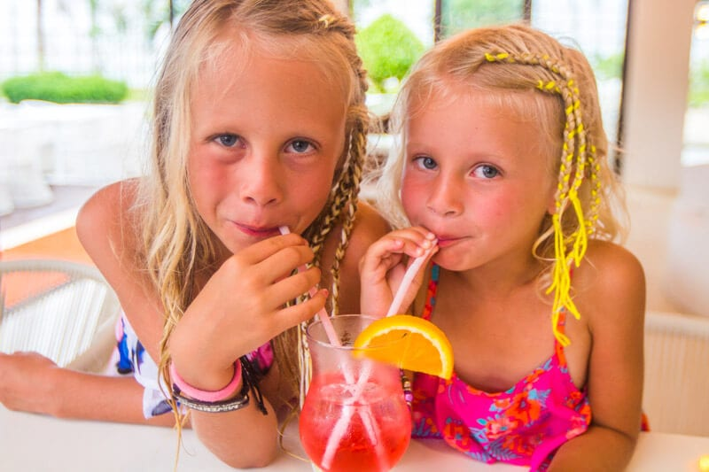 Cocktail and mocktail making classes is one of the activities on offer at the Movenpick Resort Boracay Island in the Philippines. You can read more about why we loved this family friendly resort in our blog