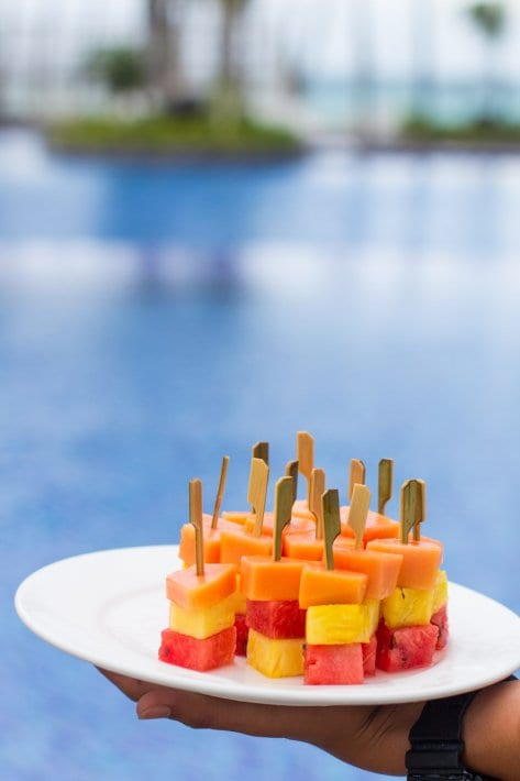 Movenpick Resort Boracay Island in the Philippines is one of the best places to stay on Boracay. You can read more about this family friendly resort in our blog