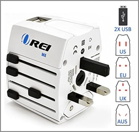International Travel Plug Adaptor - one of the best travel gifts for travelers!