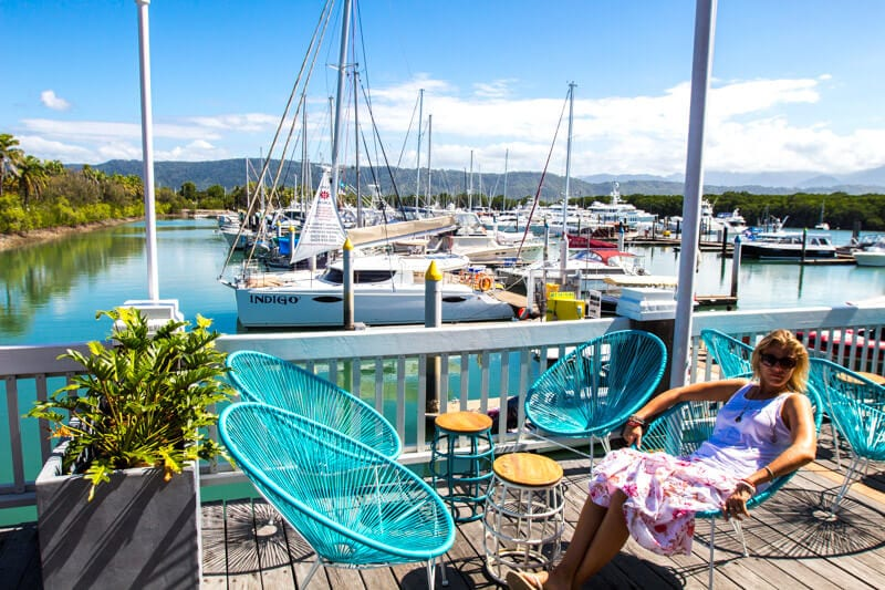 When in Port Douglas, Queensland, go visit the marina for waterfront dining and shopping