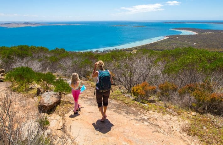 Port Lincoln is a must stop on your road trip with kids in South Australia. Click to read more tips on things to do on the Eyre Peninsula