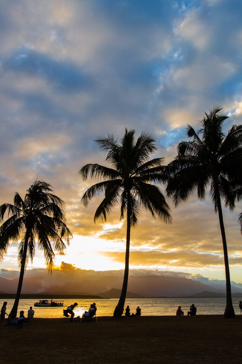 Watching the sunset at Rex Smeal Park is one of the best things to do in Port Douglas, Queensland, Australia