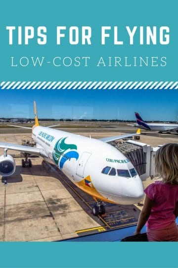 Tips for flying low cost airlines. Click to read how to have an enjoyable and cheap flight. We share our experiences with Cebu Pacific Air