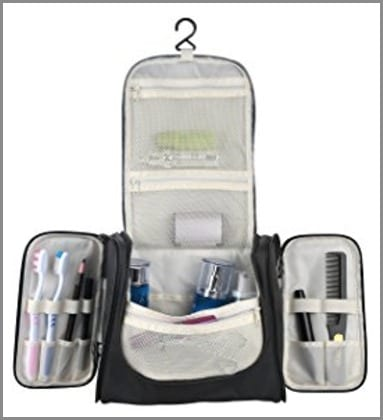Hanging Toiletry Bag - one of the best travel gifts for travelers!