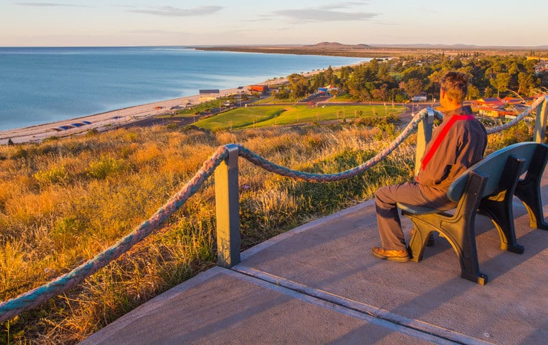 Whyalla on the Eyre Peninsula South Australia is a great first stop on your road trip with kids