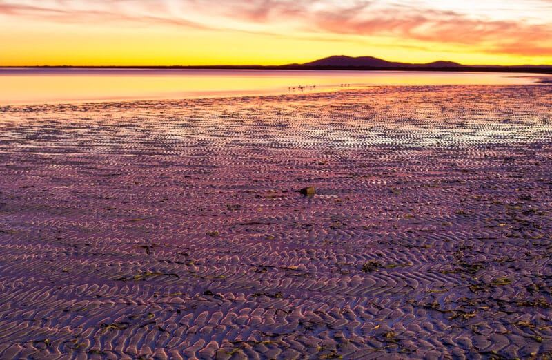 A sunset in Whyalla in South Australia is a great first stop and thing to do on the Eyre Peninsula on your road trip with kids