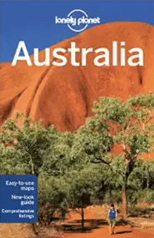 Lonely Planet guide books for Australia