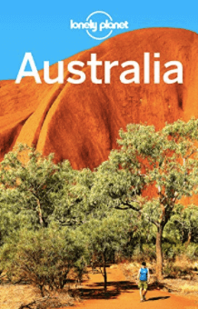 Lonely Planet guide book for Australia