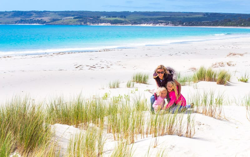 Antechamber Bay on the Dudley Peninsula is one of the best beaches on Kangaroo Island