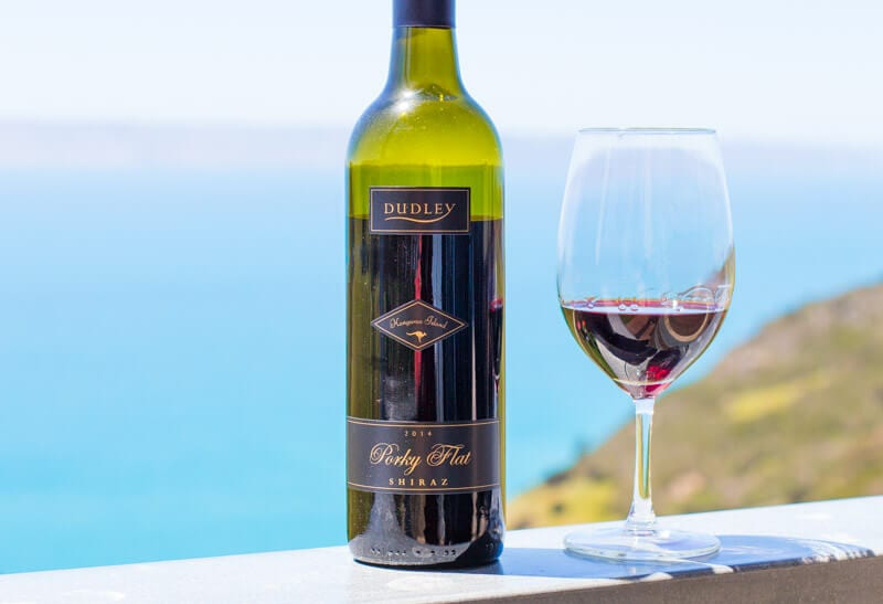 Dudley Wines on the Dudley Peninsula Kangaroo Island has one of the bets vineyard views in Australia