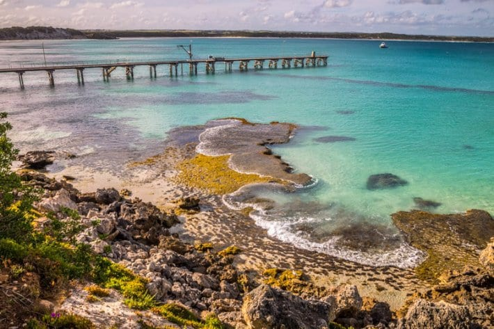 Vivonne Bay on Kangaroo Island is said to be one of the best beaches in Australia