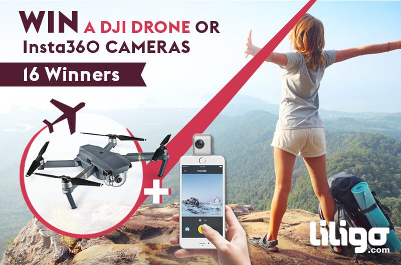 WIN a DJI Drone in this sweepstakes!
