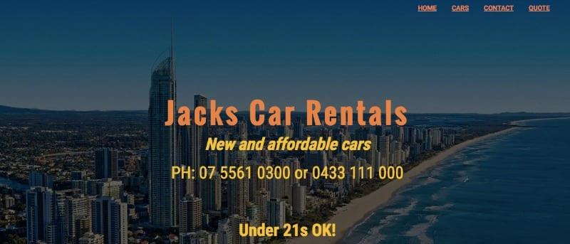 Jacks Car Rental