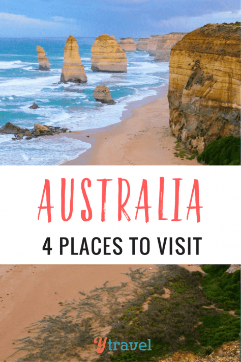 Australia is a great road trip destination. Here are 4 of the best places to visit in Australia on a drive holiday!