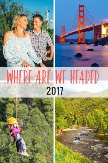Where are you headed in 2017? We share our travel, life and business plans for 2017 plus my unusual approach to goal setting What's yours? May your 2017 rock!