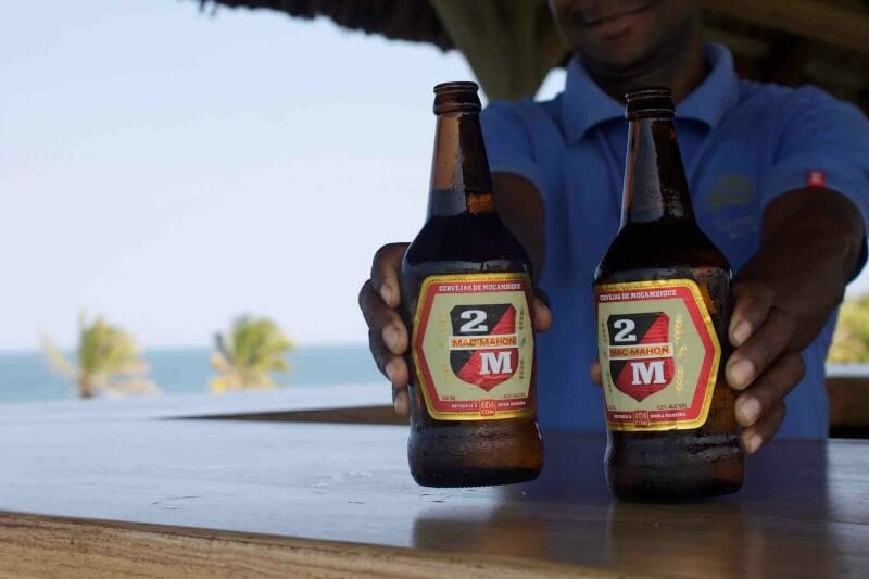 The local beer to drink when you visit Mozambique