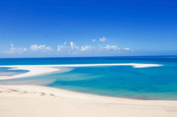 Secluded beaches are one of the top reasons to visit Mozambique