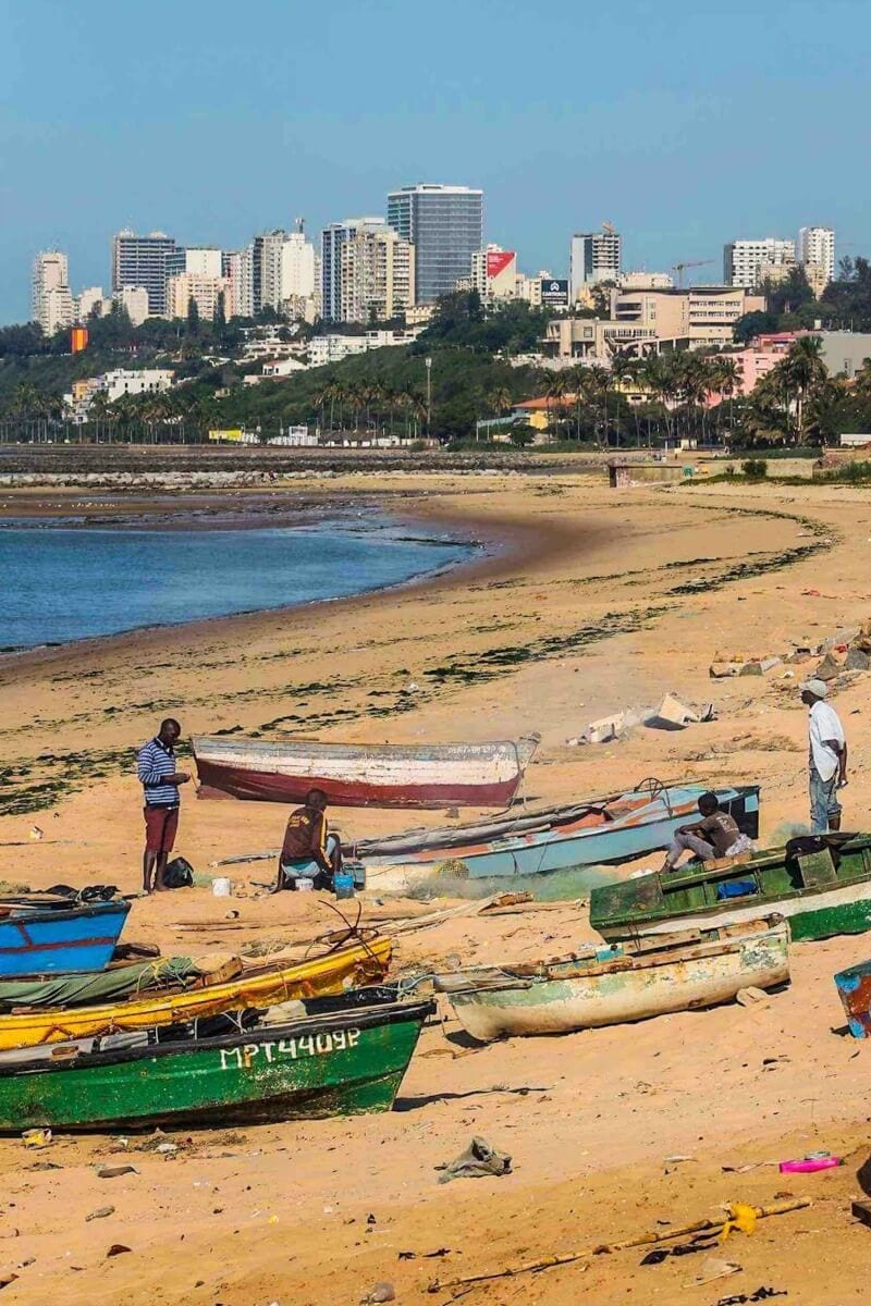 Maputo - one of the main tourist hubs in Mozambique