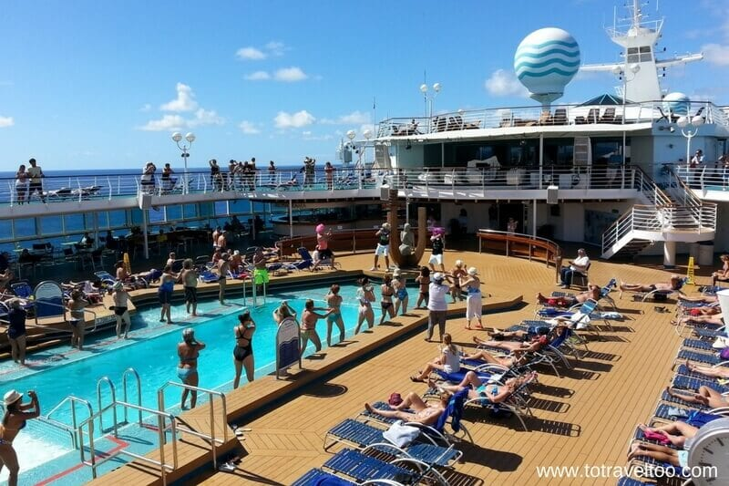 Fun times on board our repositioning cruise with Monarch