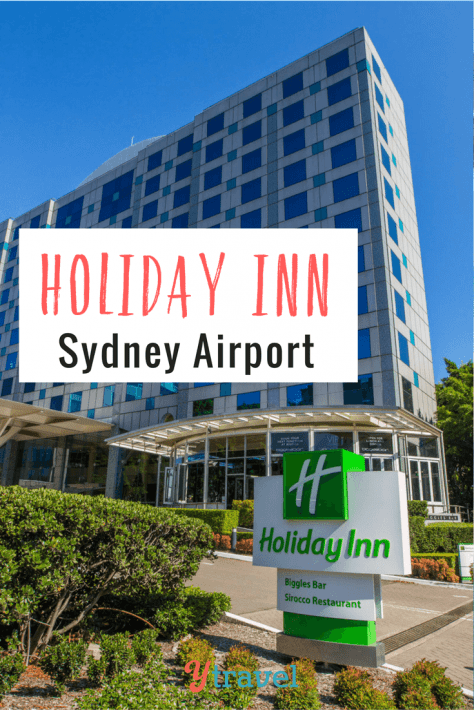 "Looking for accommodation near Sydney Airport? Check out the ""Park, Stay & Go"" package with Holiday Inn Sydney Airport. Especially great for families!"