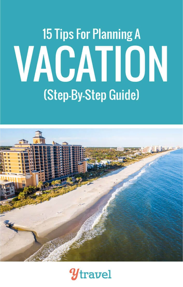 Planning your trip can be overwhelming. Here are15 steps to plan a trip and take the stress out of booking your next vacation. Tips include how to get deals on flights, accommodation, tours, rental cars and activities. Plus things like visas and passports. Don't plan a family vacation before reading these travel tips!