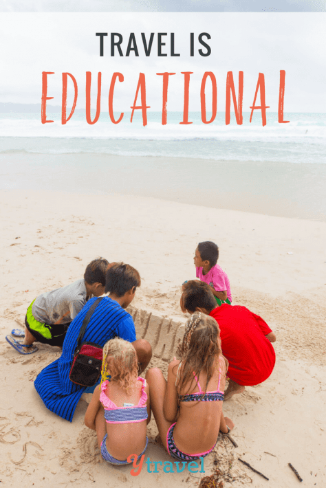 travel is educational
