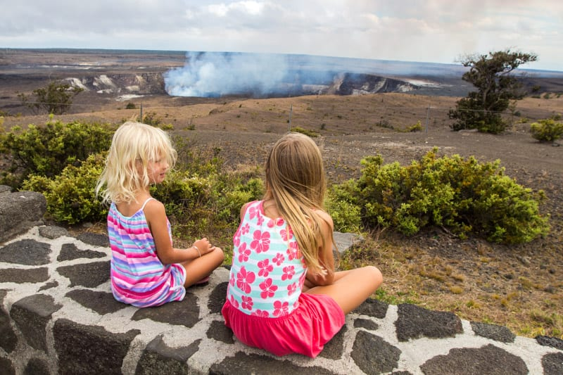 Blog de voyage en famille Parc national des Volcans d'Hawaï Big Island Hawaii (1)