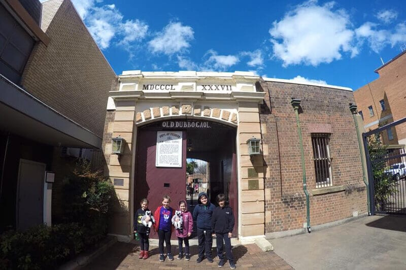 Visiting the Old Dubbo Gaol is one of the best things to do in Dubbo with kids