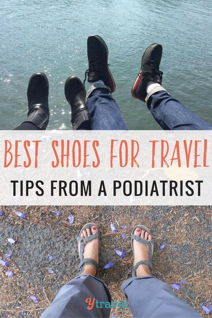how to pick the best shoes for travel