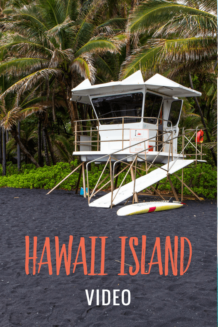 Hawaii Island Video - In this video from the Big Island of Hawaii, we set foot on famous Punalu'u Black Sand Beach, visit Pu'uhonua O Honaunau Park, and go swimming with the manta rays at Keauhou Bay on the Kona Coast which was AMAZING!!!