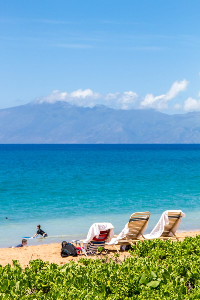 Fancy relaxing at Kaanapali Beach in Maui, Hawaii?