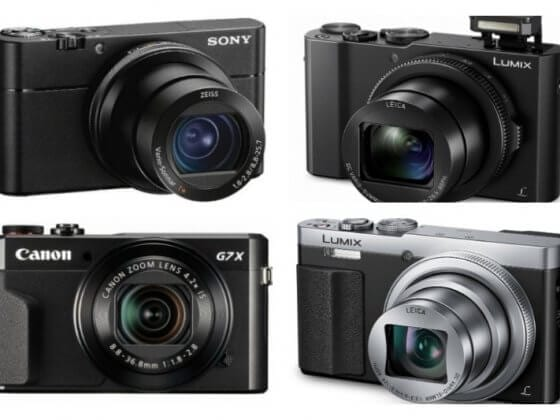 8 of the best selling point-and-shoot-compact-cameras on Amazon