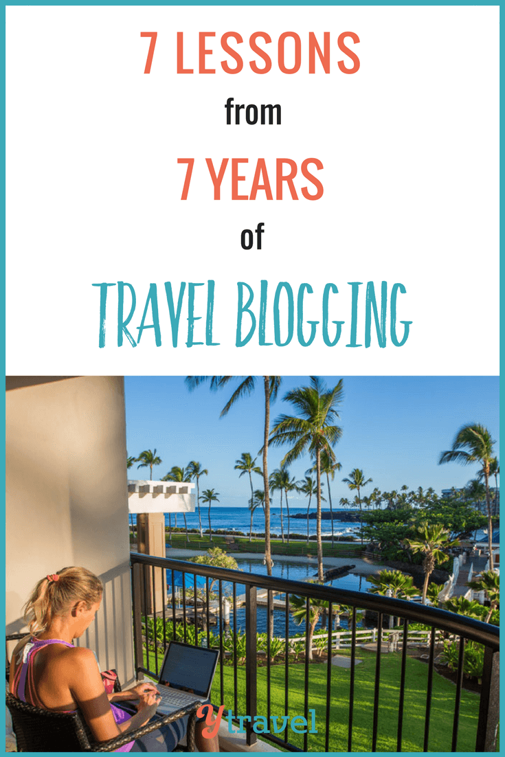 There's a lot to learn about travel blogging and online business. Here are 7 key lessons that have helped us become successful travel bloggers. It's more than just sharing a pinnable image and having great SEO. I share what that more is. Click to read it and happy pinning!