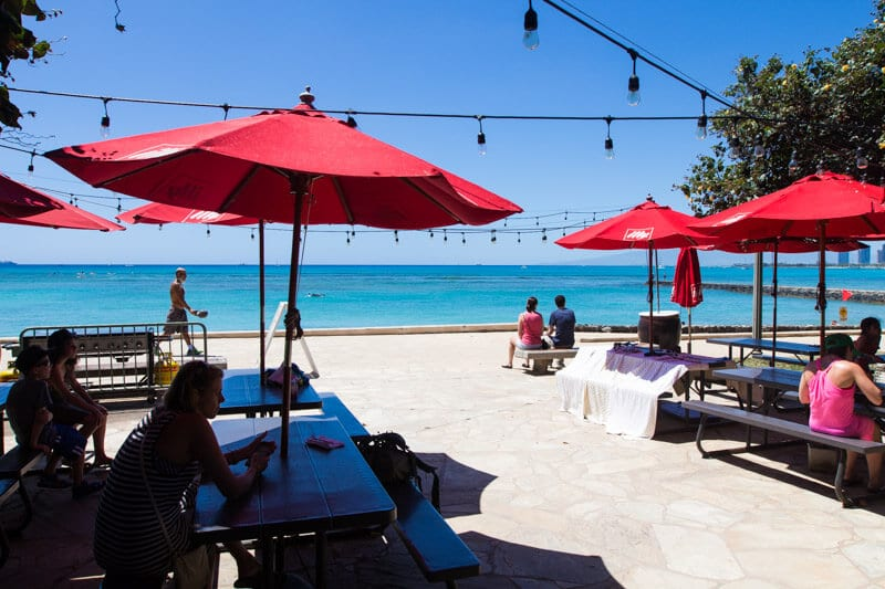 Barefoot Beach Cafe - one of the best places to eat in Waikiki