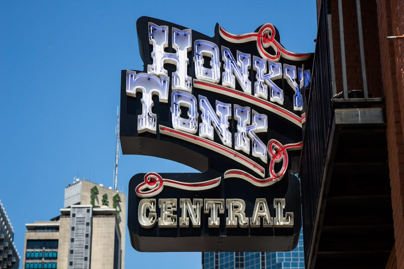Honky Tonk Bar, Nashville