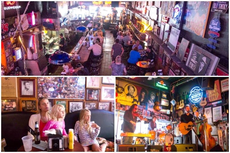 Honky Tonk Bar in Nashville