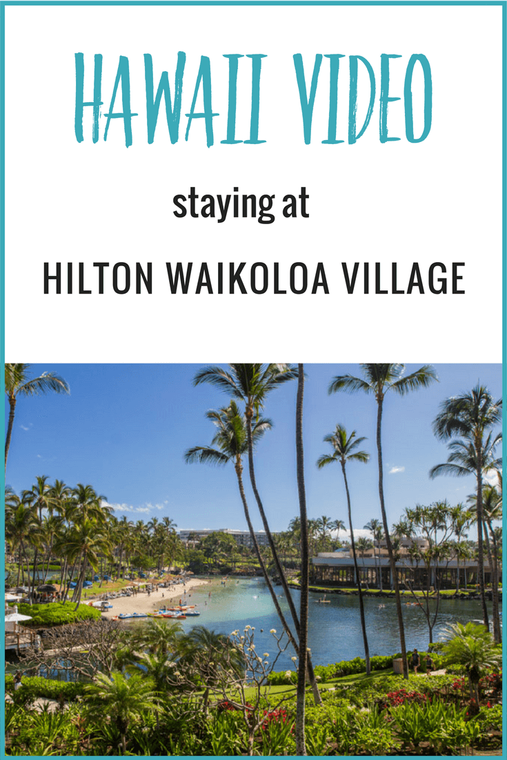 In video 5 from the Big Island of Hawaii we show you around the Hilton Waikoloa Village.