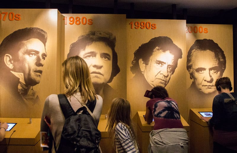 What to do in Nashville with kids - Johnny Cash Museum in Nashville
