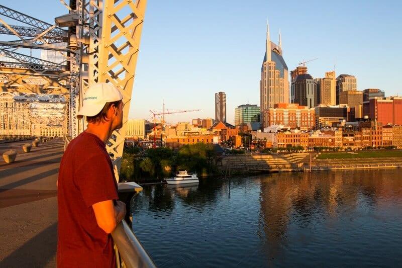 Walking around Nashville