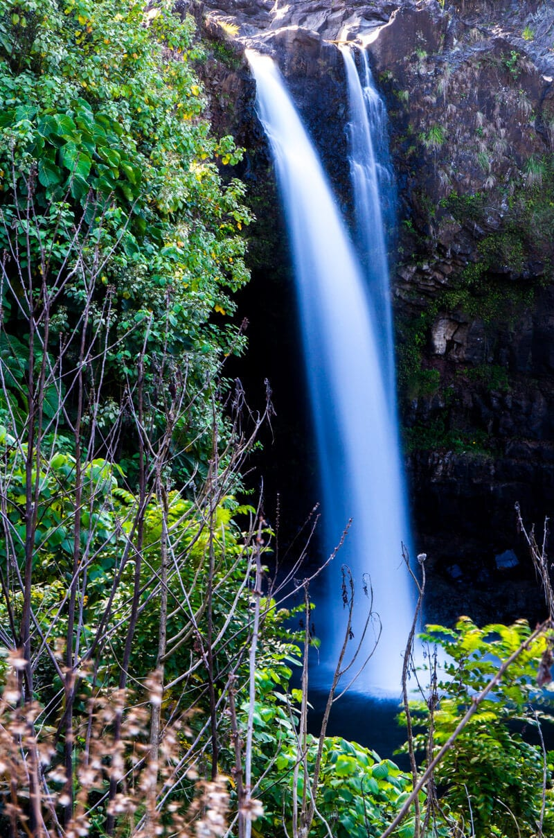 Rainbow Falls - things to do on the Big Island of Hawaii