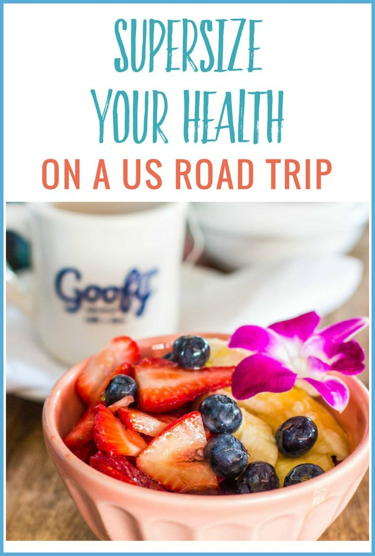 How to supersize your health on a USA road trip