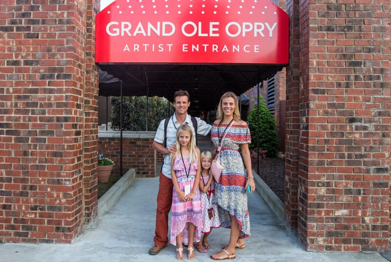 Backstage tour of the Grand Ole Opry in Nashville