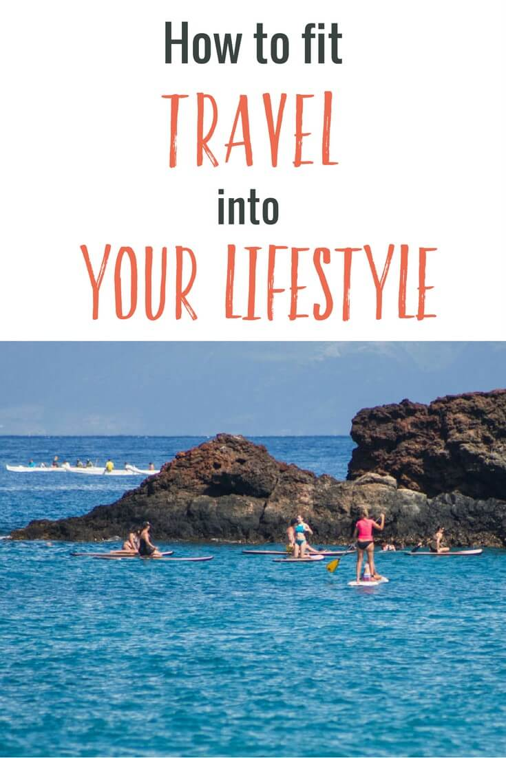 Wondering how to fit travel into your lifestyle? I share an easy way to travel more. Happy pinning