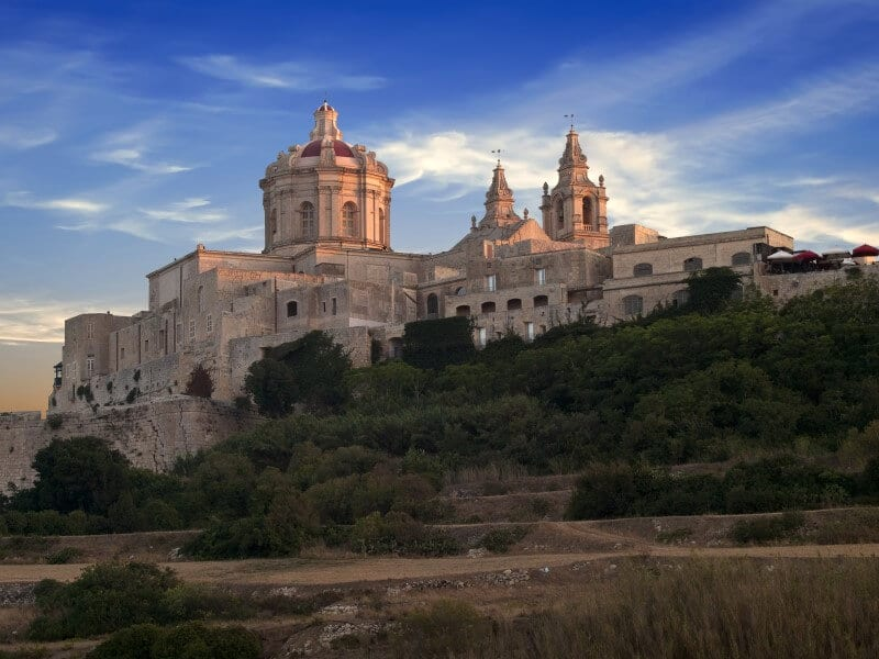 Malta Mdina and Zebbug destination in Europe on a budget