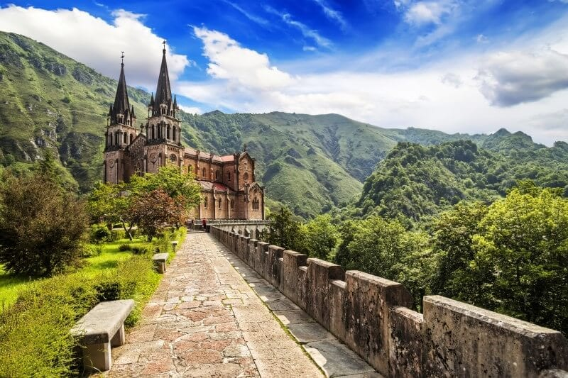 Spain_Covadonga Europe on the cheap
