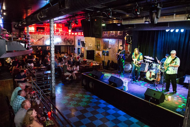 BB King's Blues Club - one of the best things to do in Memphis