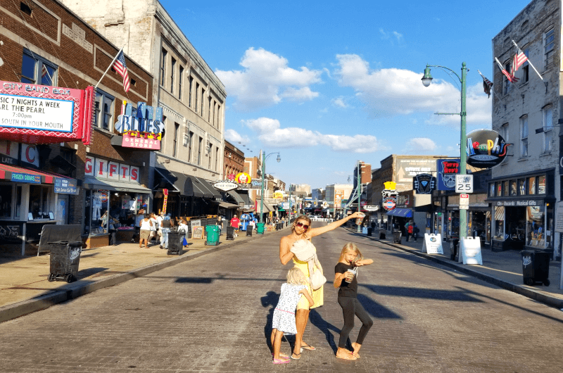 Beale Street - one of the best places to visit in Memphis, Tennessee