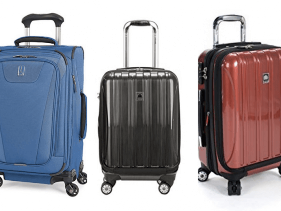 8 of the best selling carry-on suitcases on Amazon
